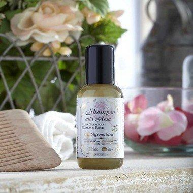 Šampoon roosiga kahjustatud juustele Agronatura 50 ml hind ja info | Šampoonid | kaup24.ee