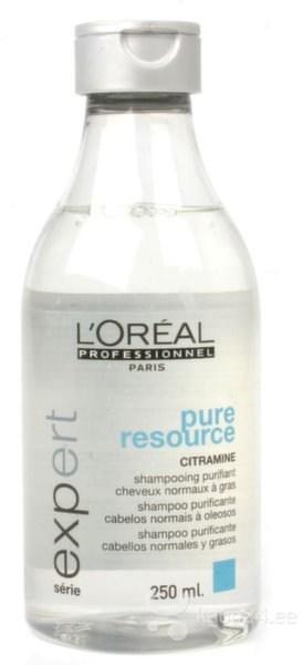Šampoon L'Oreal Professionnel Paris Serie Expert Pure Resource 250 ml hind ja info | Šampoonid | kaup24.ee