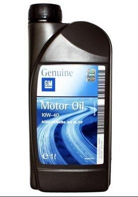Poolsünteetiline mootoriõli GM MOTOROIL 10W40 1l kaina ir informacija | Mootoriõlid | kaup24.ee