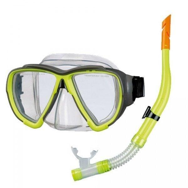 Трубка и маска для плавания Beco 99012 цена и информация | Ujumine, sukeldumine | kaup24.ee