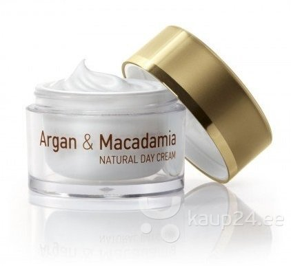 Päevakreem Natural Cosmetic Argan & Macadamia 50 ml цена и информация | Näokreemid | kaup24.ee