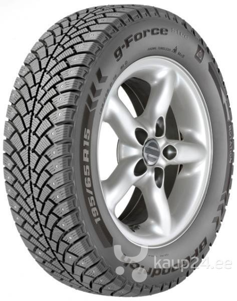 BF Goodrich G-FORCE STUD 195/60R15 92 Q XL (naast) цена и информация | Rehvid | kaup24.ee