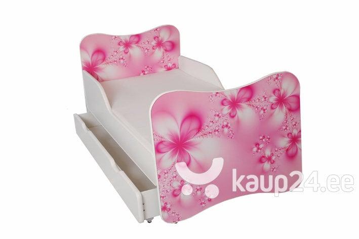 Детская кровать с матрасом и ящиком для постельного белья Ami 24, 160x80 см цена и информация | Lastetoamööbel | kaup24.ee