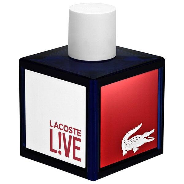 Tualettvesi Lacoste Live Pour Homme EDT meestele 100 ml цена и информация | Meeste lõhnad | kaup24.ee