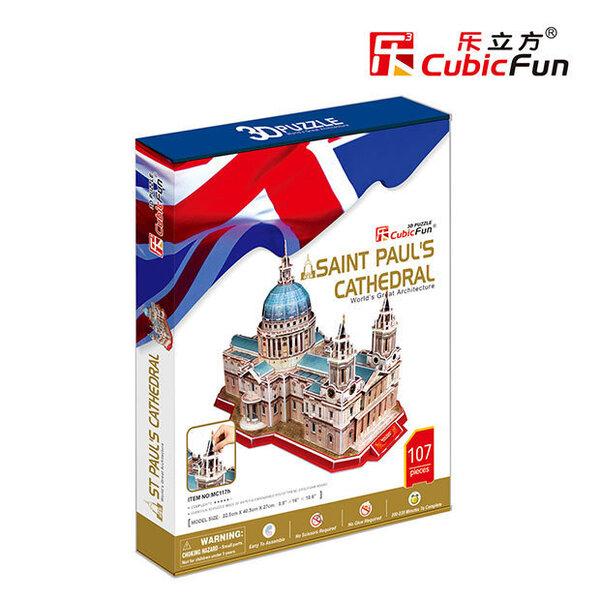 CubicFun 3D пазл St Paul'sCathedral MC117h цена и информация | Puzzle, mõistatused | kaup24.ee