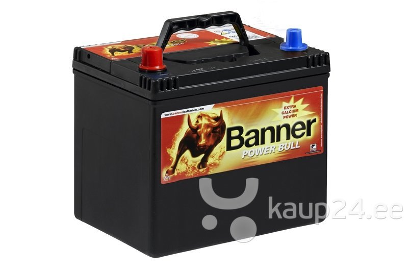 Aku BANNER Power Bull 60Ah 480A цена и информация | Akud | kaup24.ee