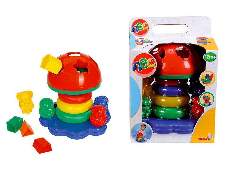 Развивающая пирамида ABC Simba цена и информация   Imikute mänguasjad   kaup24.ee