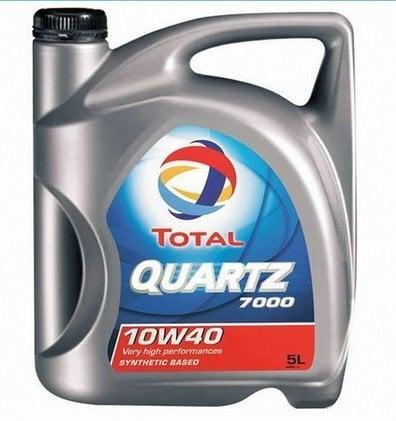 TOTAL Quartz 7000 ENERGY 10W-40 mootoriõli 5l цена и информация | Mootoriõlid | kaup24.ee