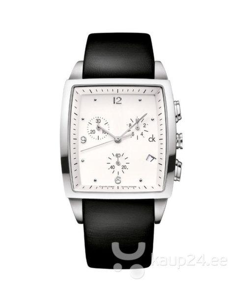 Часы  CK Calvin Klein K3027120 Bold Square Chrono цена и информация   Meeste käekellad   kaup24.ee