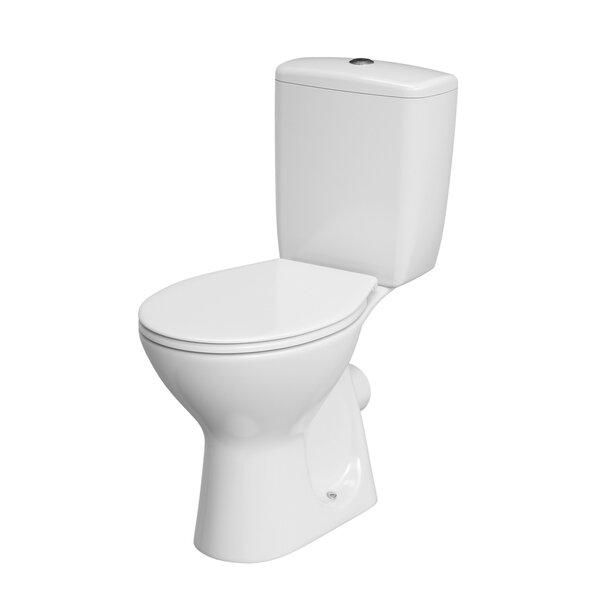 WC pott Cersanit aeglsaselt sulguva kaanega цена и информация | WС-potid | kaup24.ee