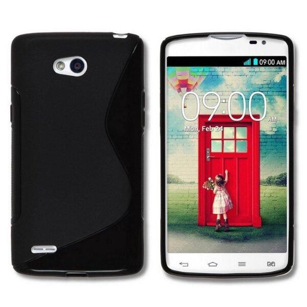 Telone Back Case S-CASE  резиновый чехол для мобильного телефона LG D405 L90, Чёрный цена и информация | Mobiili ümbrised, kaaned | kaup24.ee