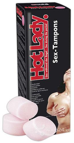 Тампоны Hot Lady 8 шт. цена и информация | Hügieenitooted | kaup24.ee