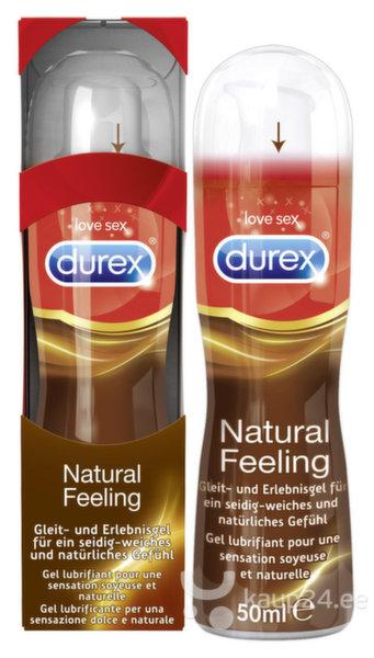 Лубрикант Natural Feeling Durex цена и информация | Lubrikandid | kaup24.ee