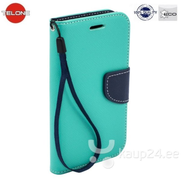Telone Fancy Diary Book Case Samsung G850 Galaxy Alpha Чехол-книжка со стендом Светло Синий/Синий цена и информация | Mobiili ümbrised, kaaned | kaup24.ee