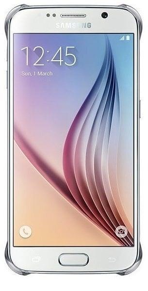 Kaitseümbris Clear Cover / Samsung Galaxy S6 (G920), hõbedane цена и информация | Mobiili ümbrised, kaaned | kaup24.ee