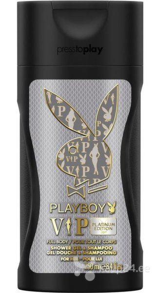 Dušigeel Playboy VIP Platinum Edition meestele 250 ml цена и информация | Lõhnastatud kosmeetika meestele | kaup24.ee