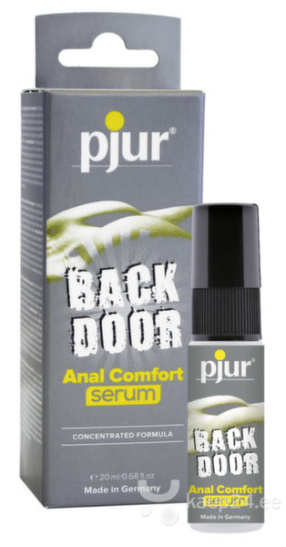 Anaalsprei Pjur, Back Door Anal, 20 ml цена и информация | Afrodisiakumid | kaup24.ee
