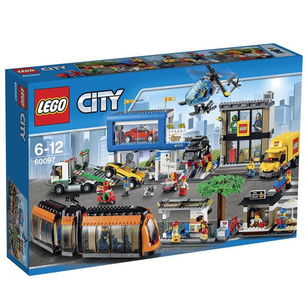 Klotsid Lego City Square 60097 hind ja info | Kokkupandavad mänguasjad | kaup24.ee