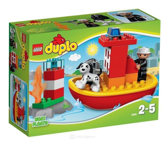 Конструктор Lego Duplo Fire Boat 10591 цена и информация | Kokkupandavad mänguasjad | kaup24.ee