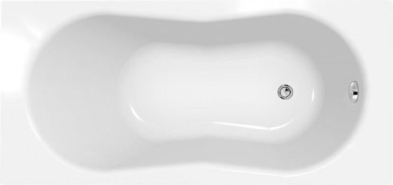Ванна CERSANIT NIKE + ножки цена и информация | Vannid | kaup24.ee