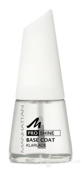 Värvitu pealislakk Manhatta Base Coat, 11 ml цена и информация | Küünelakid, küünetugevdajad | kaup24.ee