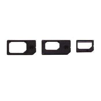 SIM-kaardi adapter HAMA 3in1 цена и информация | Mobiiltelefonide lisatarvikud | kaup24.ee