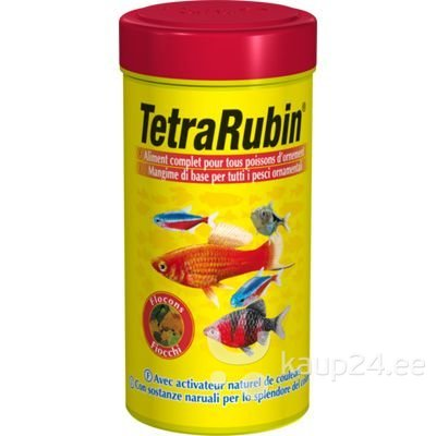 TetraRubin 100ml värvi rõhutav toit kaladele цена и информация | Toit kaladele | kaup24.ee