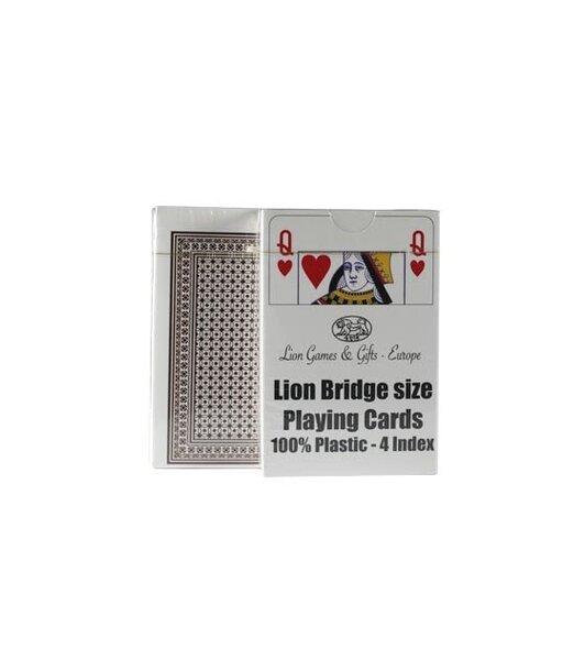 Карты для покера и бриджа Lion цена и информация | Hasartmängud, pokker | kaup24.ee