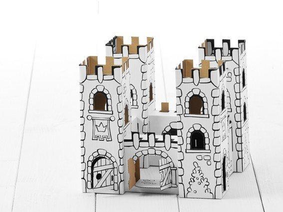 Картонный замок Rock Dragon Calafant B2601X цена и информация | Arendavad mänguasjad 3+ | kaup24.ee