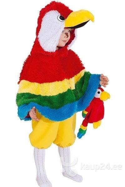 Papagoi kostüüm цена и информация | Karnevali  kostüümid | kaup24.ee