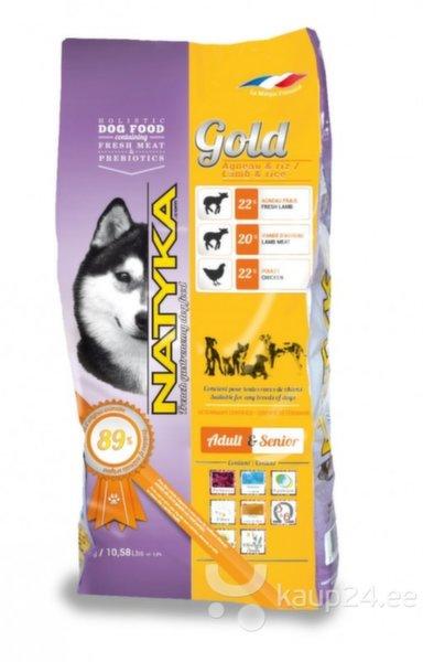 Полусухой корм для собак с ягнятиной и рисом. цена и информация | Kuivtoit koertele | kaup24.ee