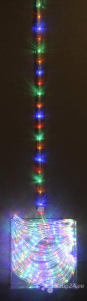Värviline jõulutuled õue, 24 LED, 12 m цена и информация | Jõuluvalgustid | kaup24.ee