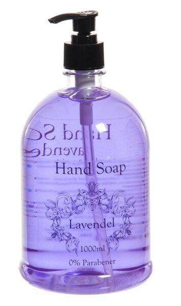 Vedel käteseep, Hand Soap (lavendel) 1000 ml hind ja info | Dušigeelid, seebid | kaup24.ee