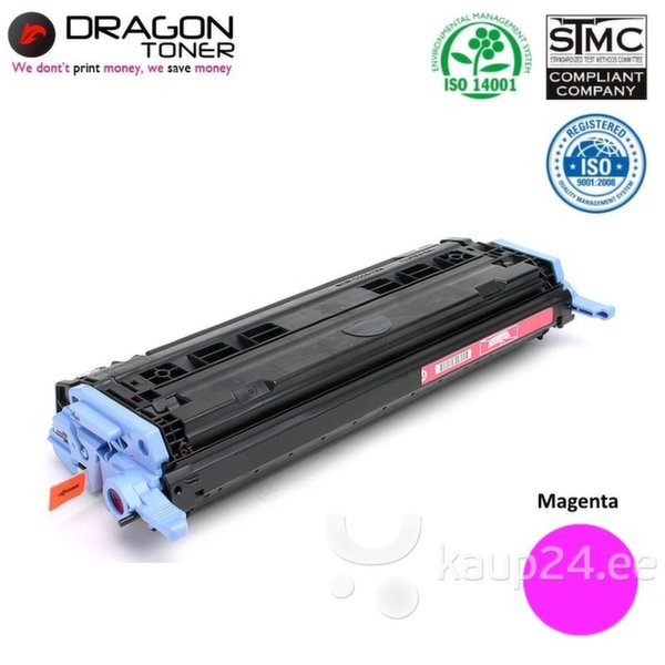Dragon HP Q6003A / Canon CRG-707 Magenta Красная Тонерная кассета 2K страниц HQ Премиум Аналог цена и информация | Laserprinteri toonerid | kaup24.ee