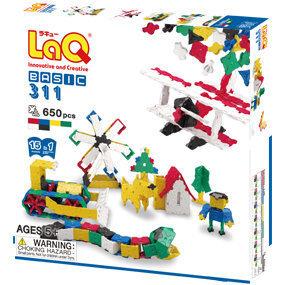 Японский конструктор LaQ Basic 311 цена и информация | Kokkupandavad mänguasjad | kaup24.ee