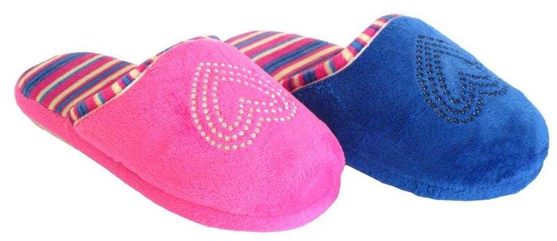 Laste sussid Pantille, roosad/sinised цена и информация | Laste jalanõud | kaup24.ee