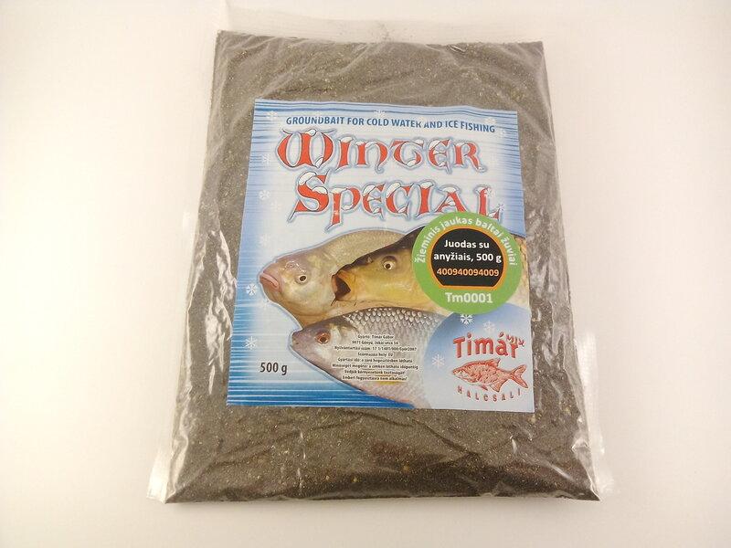 Spetsiaalne talve sööt valgele kalale must aniis TIMAR-MIX 500g цена и информация | Kalastustarbed | kaup24.ee