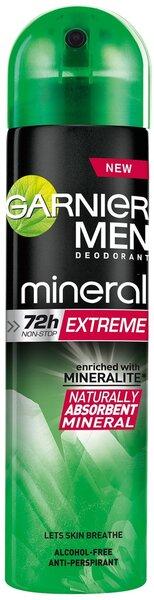Garnier Men Mineral Extreme дезодорант-спрей  цена и информация | Deodorandid | kaup24.ee