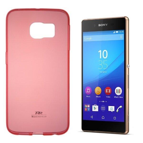 Kaitseümbris Roar Ultra Slim 0.3mm sobib Sony Xperia Z3 (D6603), punane цена и информация | Mobiili ümbrised, kaaned | kaup24.ee