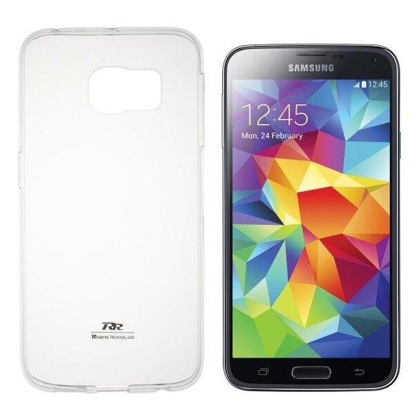 Kaitseümbris Roar Ultra Slim 0.3mm sobib Samsung Galaxy J5 (J500F), läbipaistev цена и информация | Mobiili ümbrised, kaaned | kaup24.ee