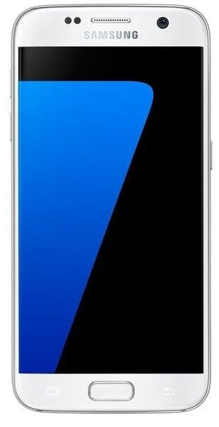 Mobiiltelefon Samsung Galaxy S7 (G930F) 32GB, Valge цена и информация | Mobiiltelefonid | kaup24.ee