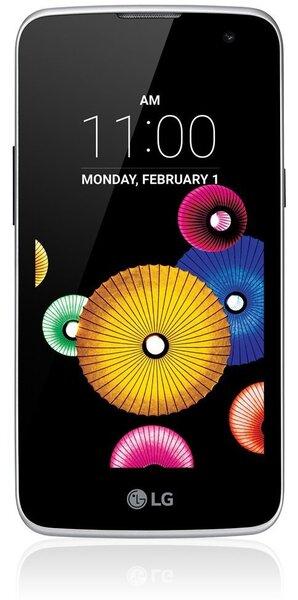 Mobiiltelefon LG K4 (K120E), Must/Sinine hind ja info | Mobiiltelefonid | kaup24.ee