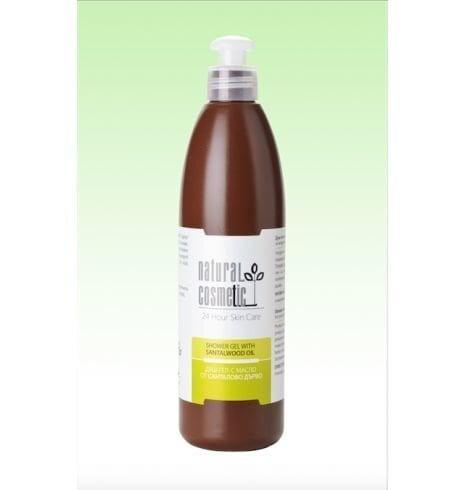 Dušigeel sandlipuuõliga Natural Cosmetic 300 ml цена и информация | Dušigeelid, seebid | kaup24.ee