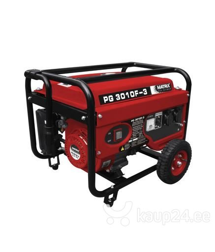 Generaator MATRIX PG 3010 F-3 цена и информация | Elektrigeneraatorid | kaup24.ee