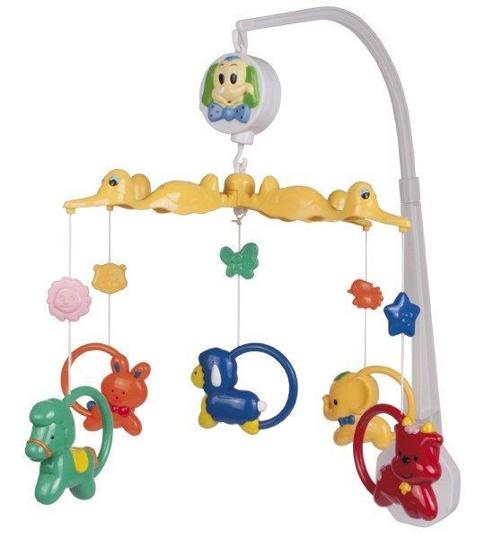 Muusikaline karussell Loomad Canpol 2/966 цена и информация | Imikute mänguasjad | kaup24.ee