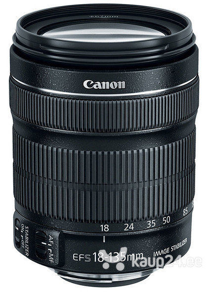 Objektiiv Canon EF-S 18-135mm f/3.5-5.6 IS STM цена и информация | Fotoaparaadid | kaup24.ee