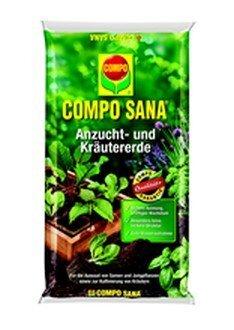 Substraat COMPO SANA köögiviljadele ja aiataimedele, 5 l цена и информация | Muld, turvas, kompost | kaup24.ee
