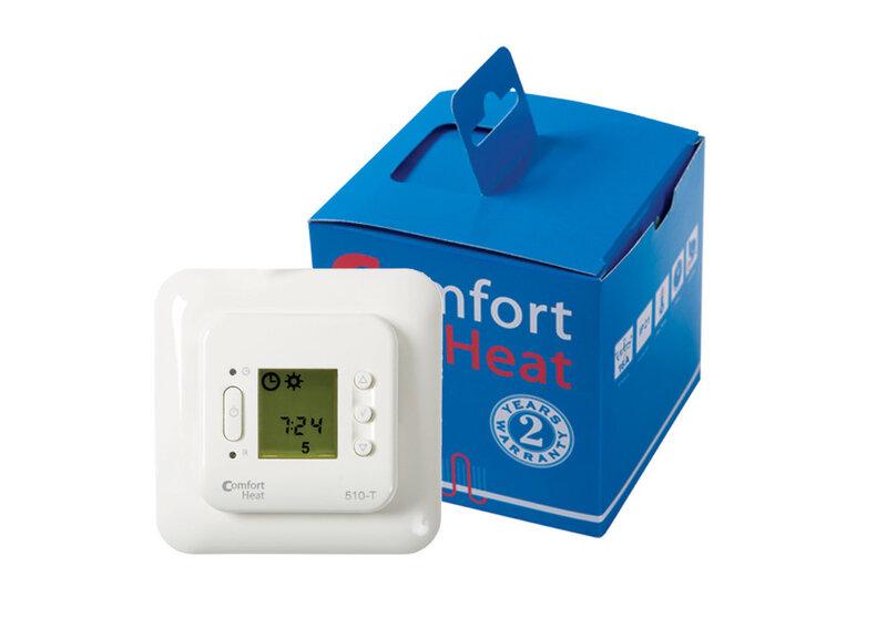 Varjatud programmeeritav termostaat C 510T koos taimeri ja temperatuuri anduriga 16A; 3600W; 230V hind ja info | Põrandaküte | kaup24.ee