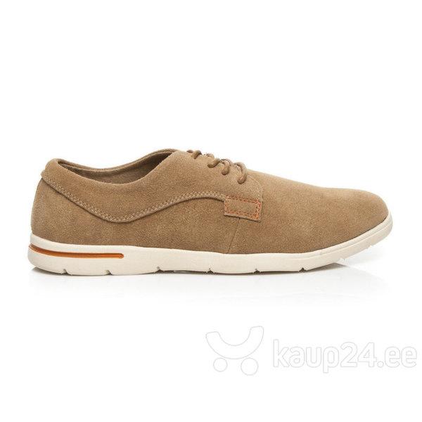 Meeste jalatsid, helepruun цена и информация | Meeste kingad, saapad | kaup24.ee