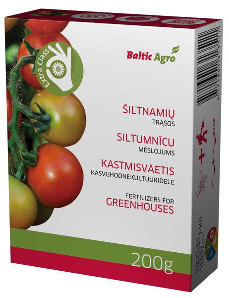 Kastmisväetis kasvuhoonekultuuridele Baltic Agro, 200 g цена и информация | Kuiv väetised | kaup24.ee